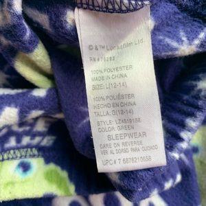 Star Wars Intimates & Sleepwear - Star Wars Green & Blue Yoda Pajama Set Size Large